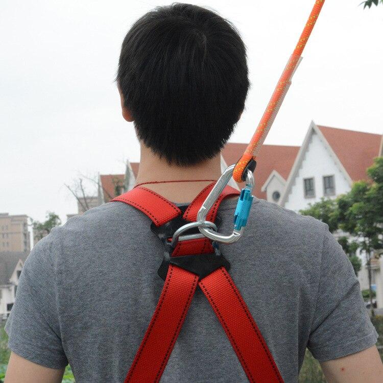 Cinturón de seguridad ASOL de cuerpo entero para escalada en roca cinturón de seguridad rápido para deportes al aire libre senderismo acampada montañero - 3