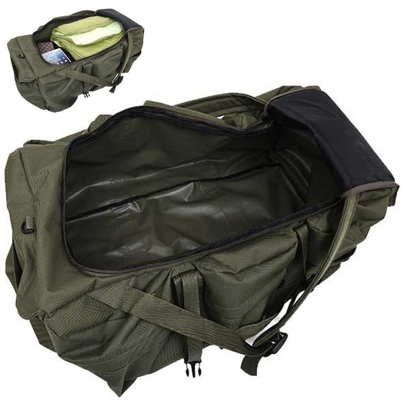 İsti yüksək keyfiyyətli 90L böyük həcmli açıq hava hərb - İdman çantaları - Fotoqrafiya 4