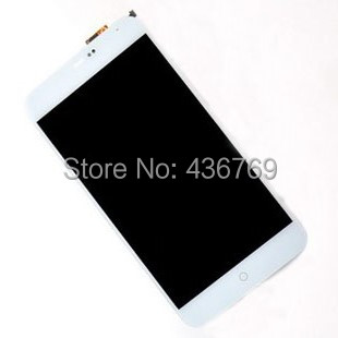 LCD Display Touch Screen Digitizer Assembly For MeiZu MX4 M460 M460A M461 Panel front outer Glass Lens white black baon b136595
