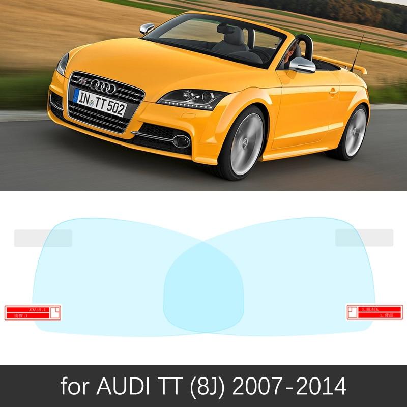 For Audi Tt 8n 8j 8s 1998 2020 Mk1 Mk2 Mk3 Full Cover Anti Fog Film Rearview Mirror Rainproof Anti Fog Accessories Tts Sline