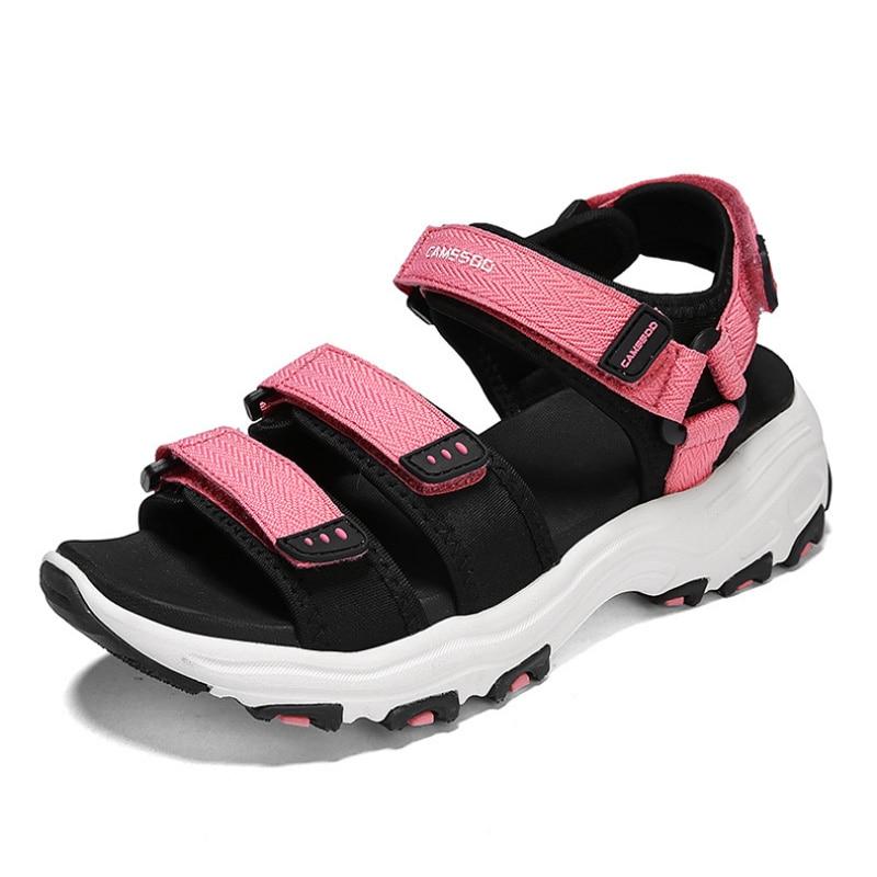 Femmes sandale chaussures de plage séchage rapide chaussures d'été amortissement doux Aqua chaussures d'eau léger respirant chaussures de Wading