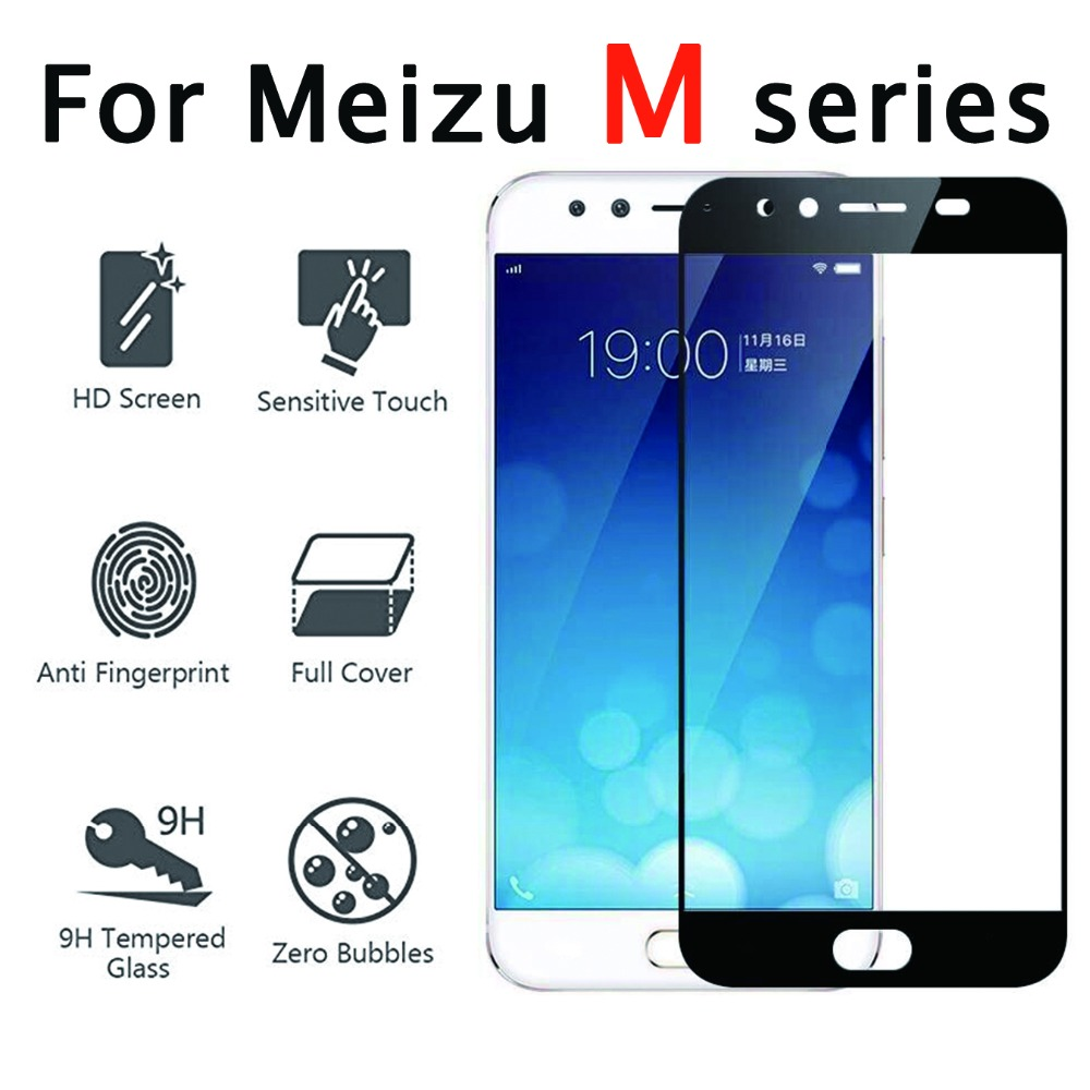 Protective glass on for meizu m5s tempered glas meizy meisie m3 m5 m6 note tremp meuzu m 5 s 3 6 not screen protector 6m 5m 3m image