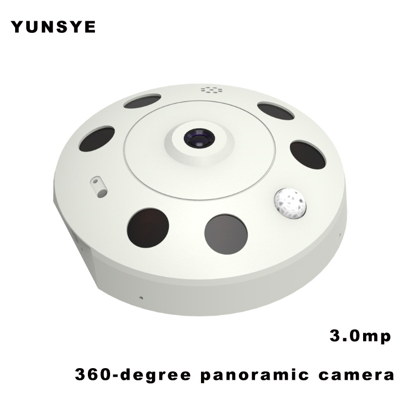 3.0mp Home IP WIFI Camera HD 3MP Two-way Audio Activity Alert YUNSYE Smart IP WIFI Webcam 360 degree panoramic camera IR CUT home ip wifi camera hd 5mp two way audio activity alert yunsye smart ip wifi webcam 360 degree panoramic camera ir cut