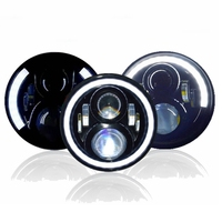 Yait Motorcycle 7 inch LED Headlight for Touring Ultra Classic Electra Street Glide Road King Yamaha Motorcycle Headlamp