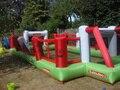 Бесплатная доставка 10*3.5 м дети мини надувные футбольное поле, надувные футбольное поле