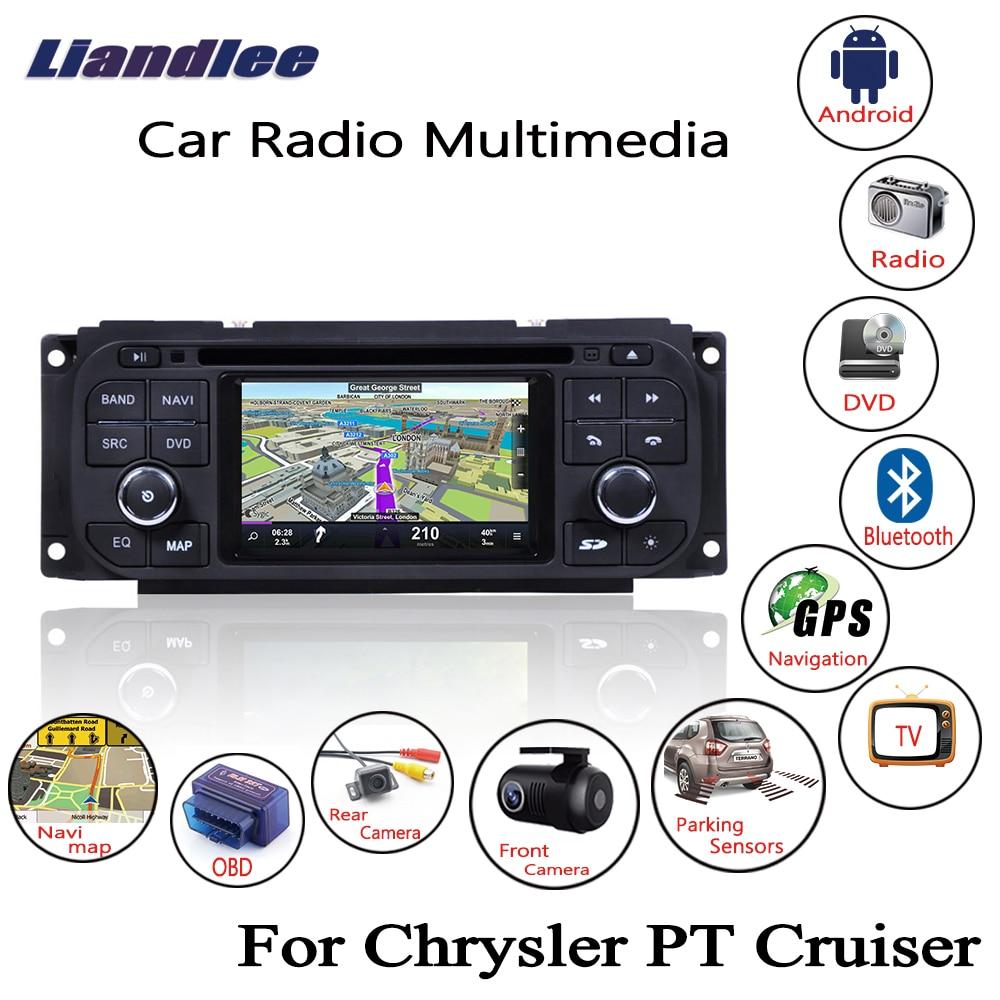 Liandlee For Chrysler PT Cruiser 2001~2006 Android Car Radio CD DVD Player GPS Navi Navigation Maps Camera OBD TV Screen wiper blades for chrysler pt cruiser 21