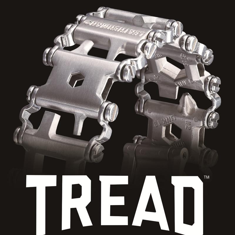 Senior Leatherman Original Material Outdoor Spliced Multi Tool Bracelet Stainless Multi-function Tool Survival Bracelet(China)