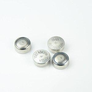 50 шт. lr44 AG13 357A A76 303 LR44 SR44SW SP76 L1154 RW82 RW42 1,5 V Кнопка громкости батарея для монет celular bateries Часы игрушки