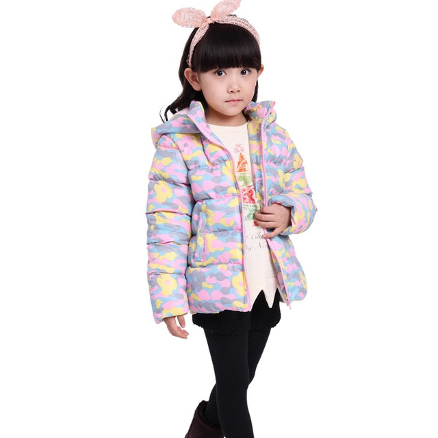 7664fd7dd US $13.59 |Children Winter Coat Kids Cartoon Jacket for Girls Outerwear  Coats Boys Hooded Jackets Kids Cotton padded Clothes Clearance Sale-in Down  & ...