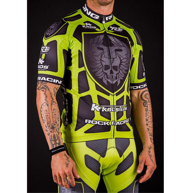 50dd63dd0 Quick Dry Cycling Jersey 2018 Rock Race Men s Summer Tight Cycling Short Jersey  Ropa Ciclismo Hombre Sportswear Bike Clothing