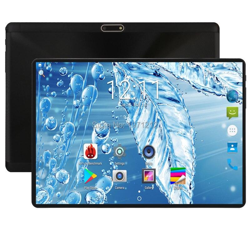 2019 Version mondiale 10 pouces tablette Deca Core 4 GB RAM 64 GB ROM 4G FDD LTE 1280*800 IPS double carte SIM Wifi GPS Android 8.0 tablette