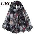 Долго звезда печати шарф для женщин теплый шарф зимой и весной платки и шарфы высокое качество 90*180