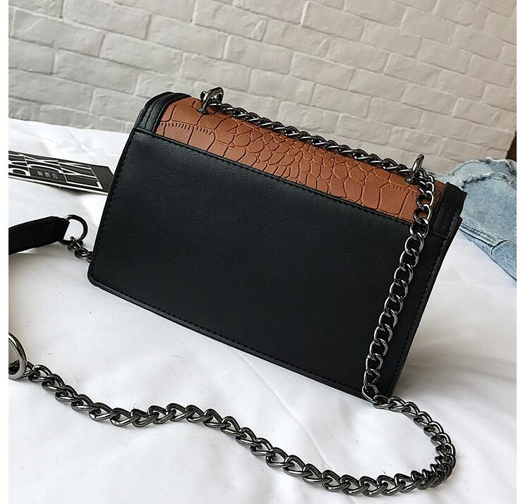 RUILANG New 2018 Womens Fashion Luxury Alligator Handbag Female Messenger Bag Ladies Brand Shoulder Cossbody Bag Feme Handbag