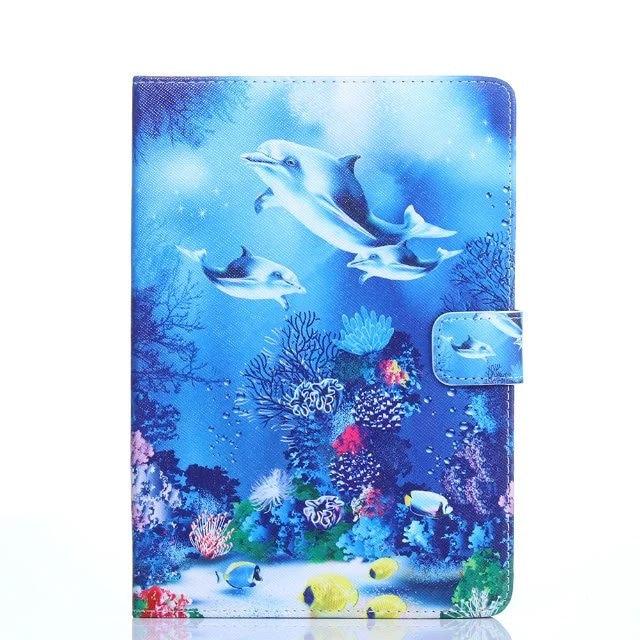 Cartoon Cover Case For Huawei Mediapad M2 M1 M3 M5 8.0 T1 T2 T3 8.0 S8-701U T1-821L T1-823W Tablet Shell Skin + Pen