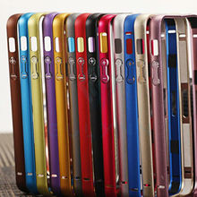 2016.New glass and bumper  for iPhone 5 5s Cover aluminum + acrylic accessories the border protective glass for iPhone 5s Cases