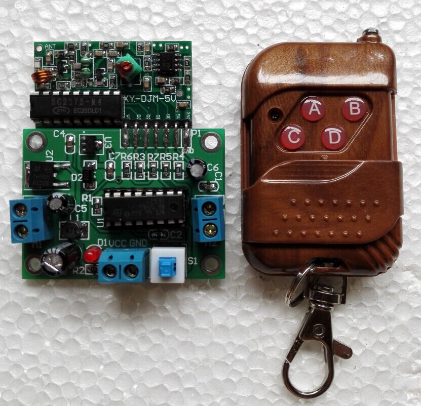 Wireless Remote Control Car Motor Control Circuit Board Homemade