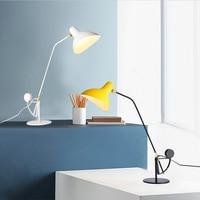 Современные Стекло настольные лампы Nordic простой Спальня настольные настольная лампа украшение дома Светодиодный Настольные лампы E27 Lamparas