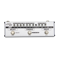 Valeton Dapper Mini Guitar Effect Pedal All In One Effects Strip Tuner Drive Chorus Delay Phones