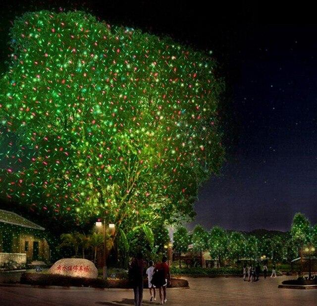 Us 5899 Rg Na Zewnątrz Ip65 Wodoodporna Ostatnie Elf Projektora Laserowego światła Oświetlenie świąteczne Zewnętrzne Ogród Trawa Xmas Dekoracyjne
