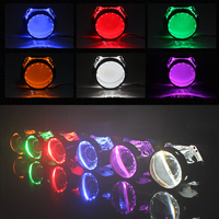 2 5 3 0 Inch Projector Lens LED Demon Eyes Bi Xenon Projector Lens HID Bixenon