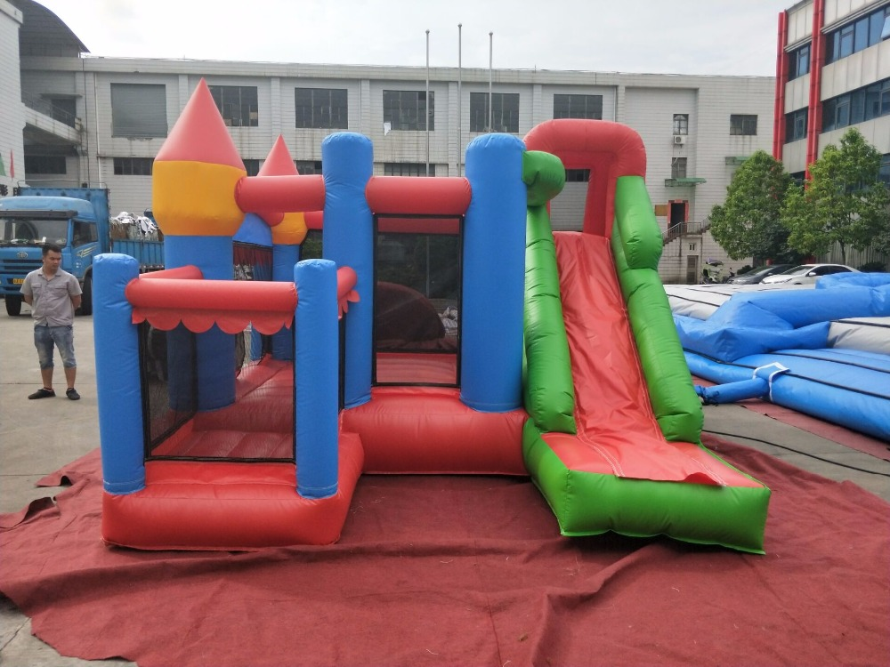 2018 New Factory Direct Inflatable Slide Inflatable Castle Inflatable trampoline 102