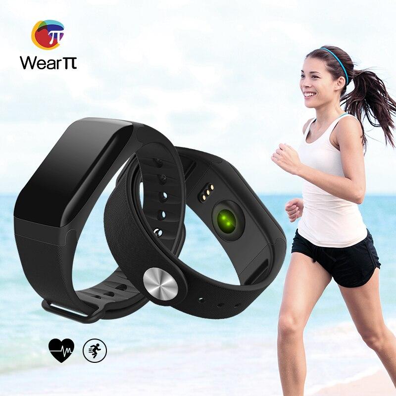 Wearpai Smart Bracelet Sport Pedometer Fitness Tracker Sleep Monitor Wristband Bluetooth 4.0 Wterproot Smartband For IOS Android жирафики развивающая игрушка цветной мячик в ассорименте жирафики