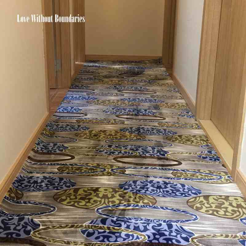 DIY Can cut kitchen, bedroom, parlor, living room dare covered with pad mat hallway carpet household stair carpet pad window