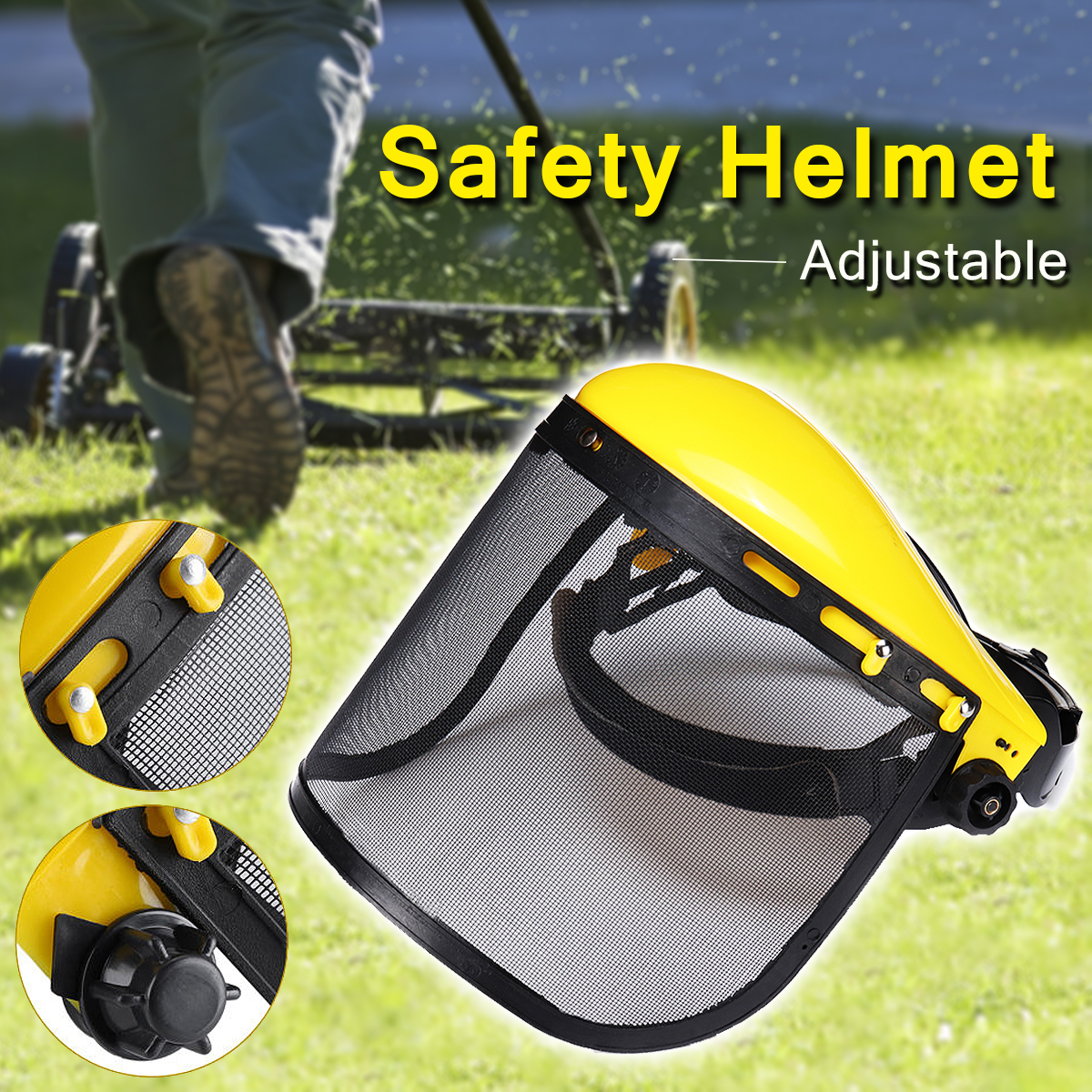 Chainsaw Safety Helmet Hat Logging Brushcutter Forestry Visor Protection chainsaw safety helmet hat logging brushcutter forestry visor protection