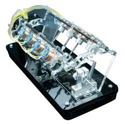 Электродвигатель двигателя Модель двигателя может быть начат высокоскоростной двигатель автомобильный двигатель v-тип двигателя