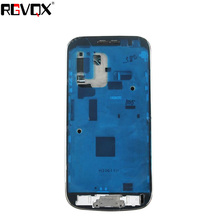 New Complete Upper+Middle Frame+Battery Cover For SAMSUNG Galaxy S4 Mini I9190 Housing Battery Cover High Quality Replacement стоимость