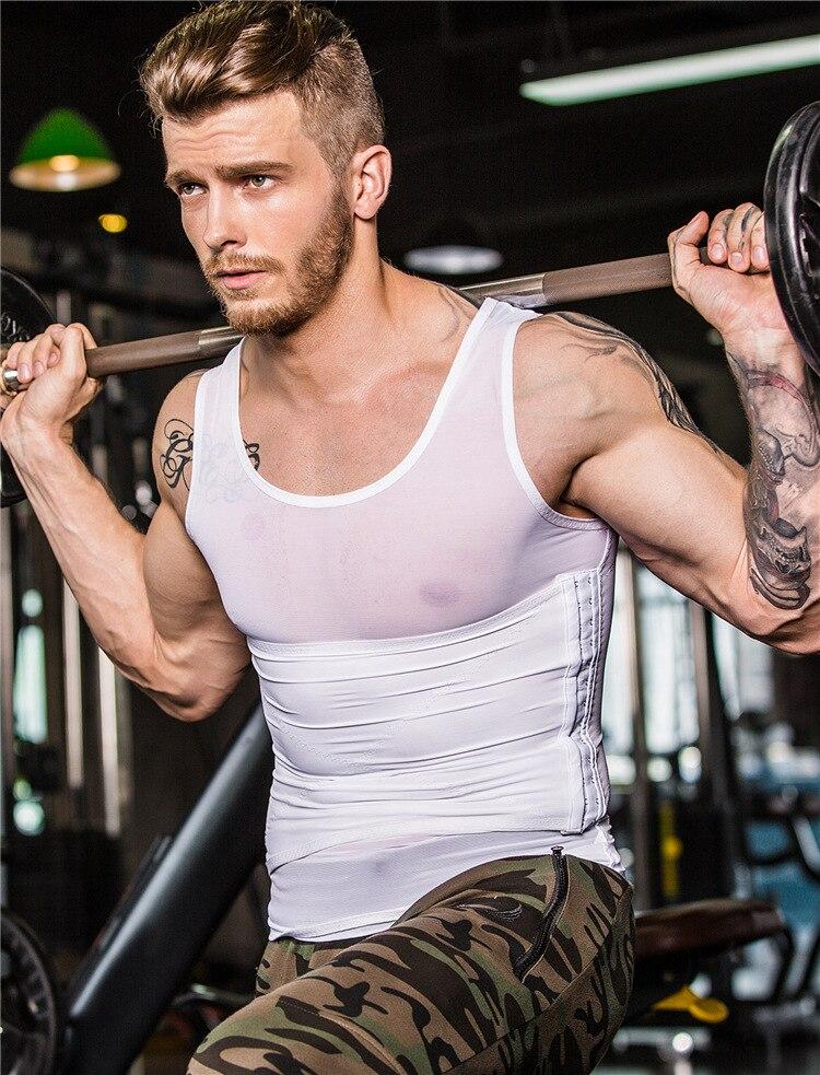 Men Waist Trainer Slimming Body Shaper Vest