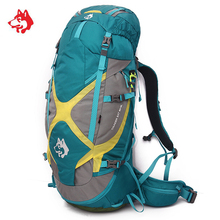 High Quality 65L Outdoor Rucksack Hiking Trekking Backpack Molle Bags For Tourist Travel Mountain Camping Backpacks Bag