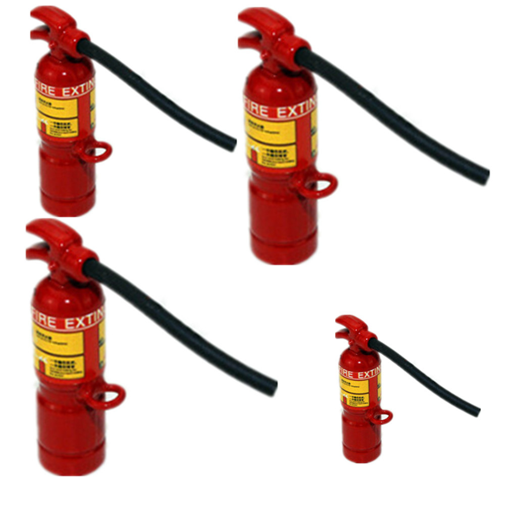 1PCS Hot Sale 1:12 Scale Red Fire Extinguisher Dolls House Miniature Accessories Furniture Toys Doll Accessories