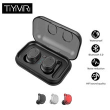 2019 TWS Wireless Bluetooth Earphone Stereo Earbud Headset With Charging Box for All Bluetooth tablet Smart phone earphone tws 5 0 wireless bluetooth earphone stereo earbud headset with charging box for all bluetooth tablet smart phone earphone yz268