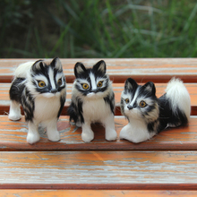 Plush Wolf  Dogs Artificial New Creative 3 Pcs Wolf Toys