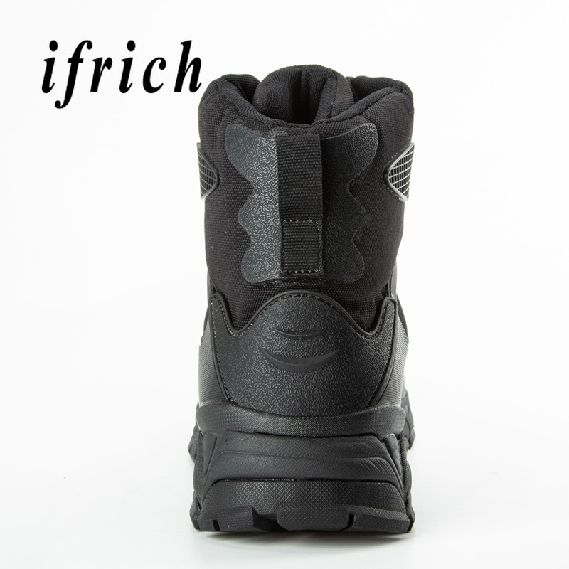 Image 4 - Brand Military Tactical Training Boots Black Beige Combat Boots  High Top Sneakers Original Desert Boots Men Working Safety ShoesWork