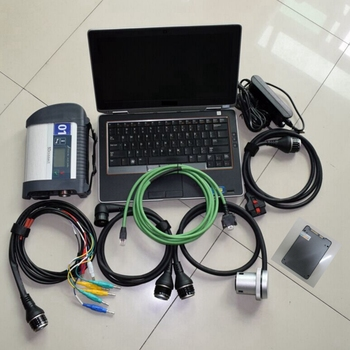 mb star c4 sd connect diagnostic tool with newest software 2020.03 ssd 360gb+e6320 laptop cpu i5 ram 4g ready to use super speed