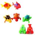 Engraçado bonito Wind-Up Clockwork Brinquedos Animais Água Banheira Para Bebê/Crianças Presente