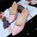 2017 весна лето случайные рабочие ботинки женщин квартиры лодка мокасины 8 конфеты цвета платье дамы моды балетная обувь большой размер