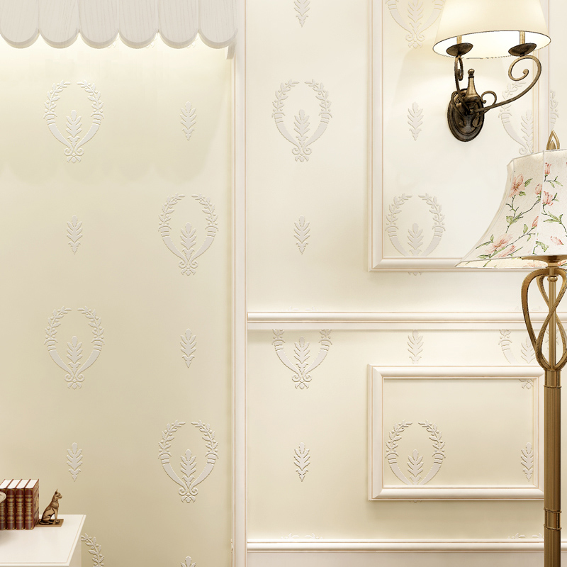 Fashion 3D Wallpaper for Walls Non Woven Wallpapesr Floral for Bedroom Living Room Wall Paper Roll,Modern 3D paper Contact