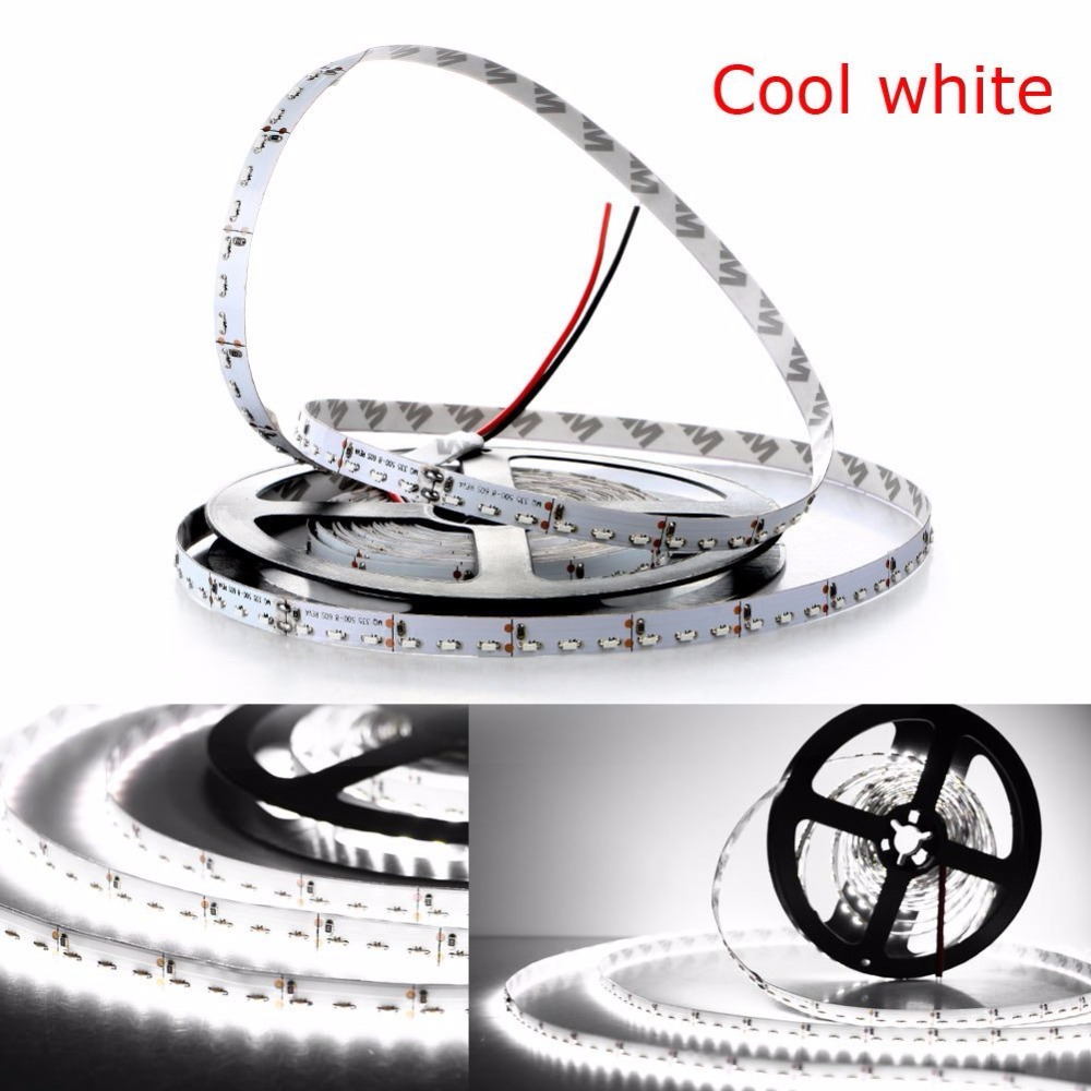 led strip light 335 smd side emitting 600led 5m dc 12v waterproof ip65 3000k 6500k warm white red green blue flexible tape rope