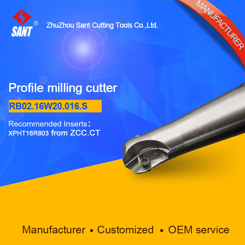 Suggested ZCCCT BMR03-016-XP20-S  Indexable Milling cutter SANT RB02.16W20.016.S with XPHT16R803 carbide insert for ZCC  цены