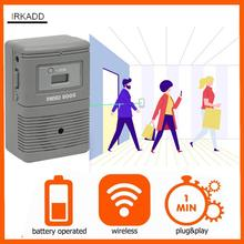 People Visitor Counter with Visitor Chime Function Wireless, Non Directional Footfall Counter