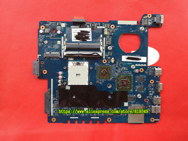 Original System board Fit For ASUS K53TA K53TK X53T K53T Laptop motherboard LA-7552P 100% Tested & working wel