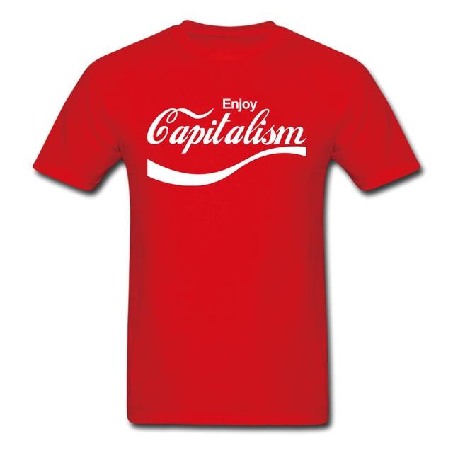 36ba39769fd Enjoy Capitalism Karl Marx Socialism Communism T-shirt Mens and Womens  Cotton printing Shirt Big Size S-XXXL