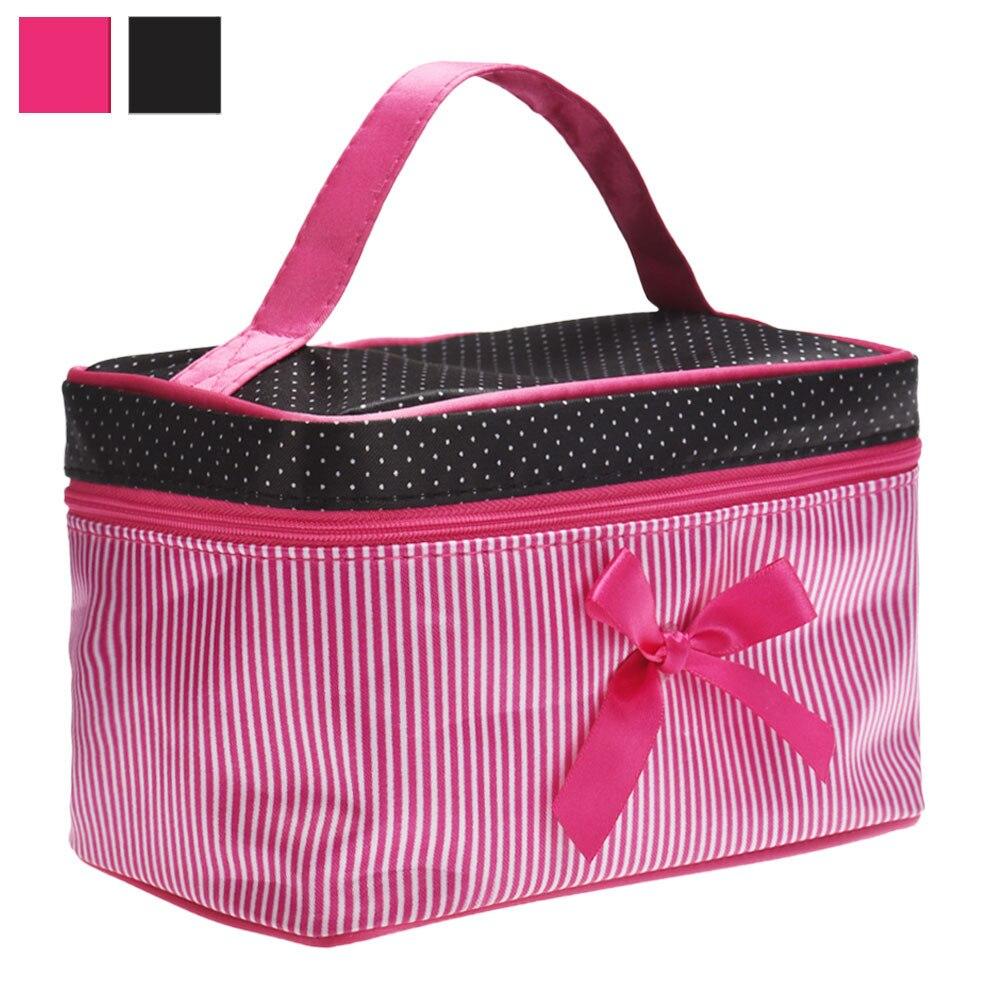 Damentaschen Neue Kommen Kosmetik Tasche Frauen Necessaire Make-up Tasche Fall Reise Leinwand Tragbare Make-up Bag Kultur Kits Die Neueste Mode