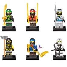 60pcs superhero Ninja Action Figure Series gift Collection Kai Cole Jay Lloyd building blocks bricks toy hobby for kids children