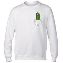 Rick And Morty Pickle Rick new hoodies man funny fashion Autumn Winter rick y morty printing Casual o-neck Men Sweatshirts