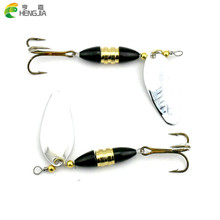HENGJIA 5pcs Spoon Fishing Lure 8.5cm 16g Hard Fishing Spoon Lure Metal Jigging Lure Baits Spinner bait carp Fishing Tackle
