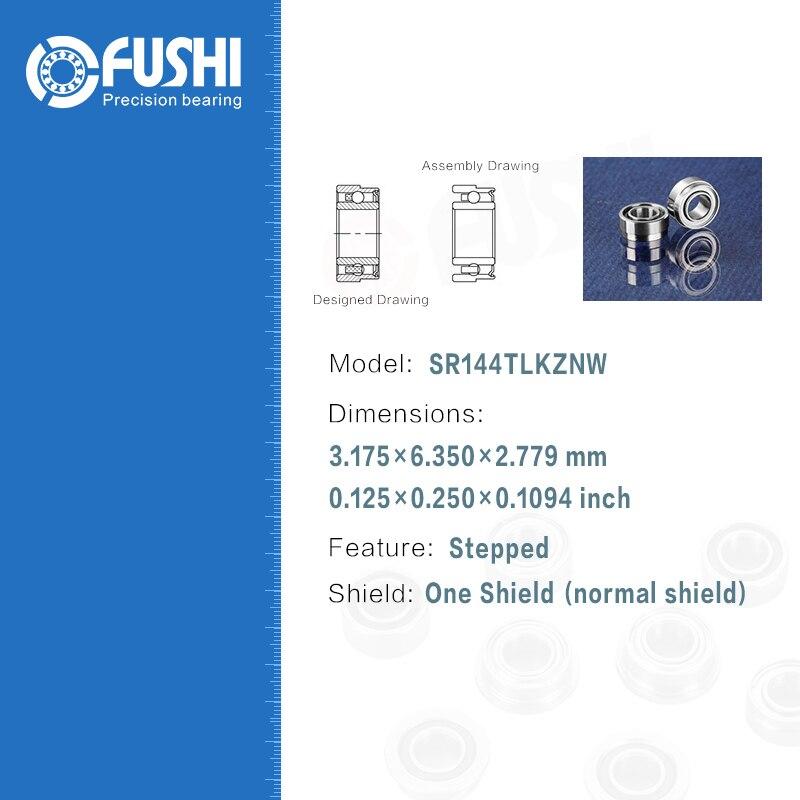Зубные подшипник SR144TLKZNW (4 шт.) ABEC-7 P4 для наконечника турбины Высокая Скорость  ...
